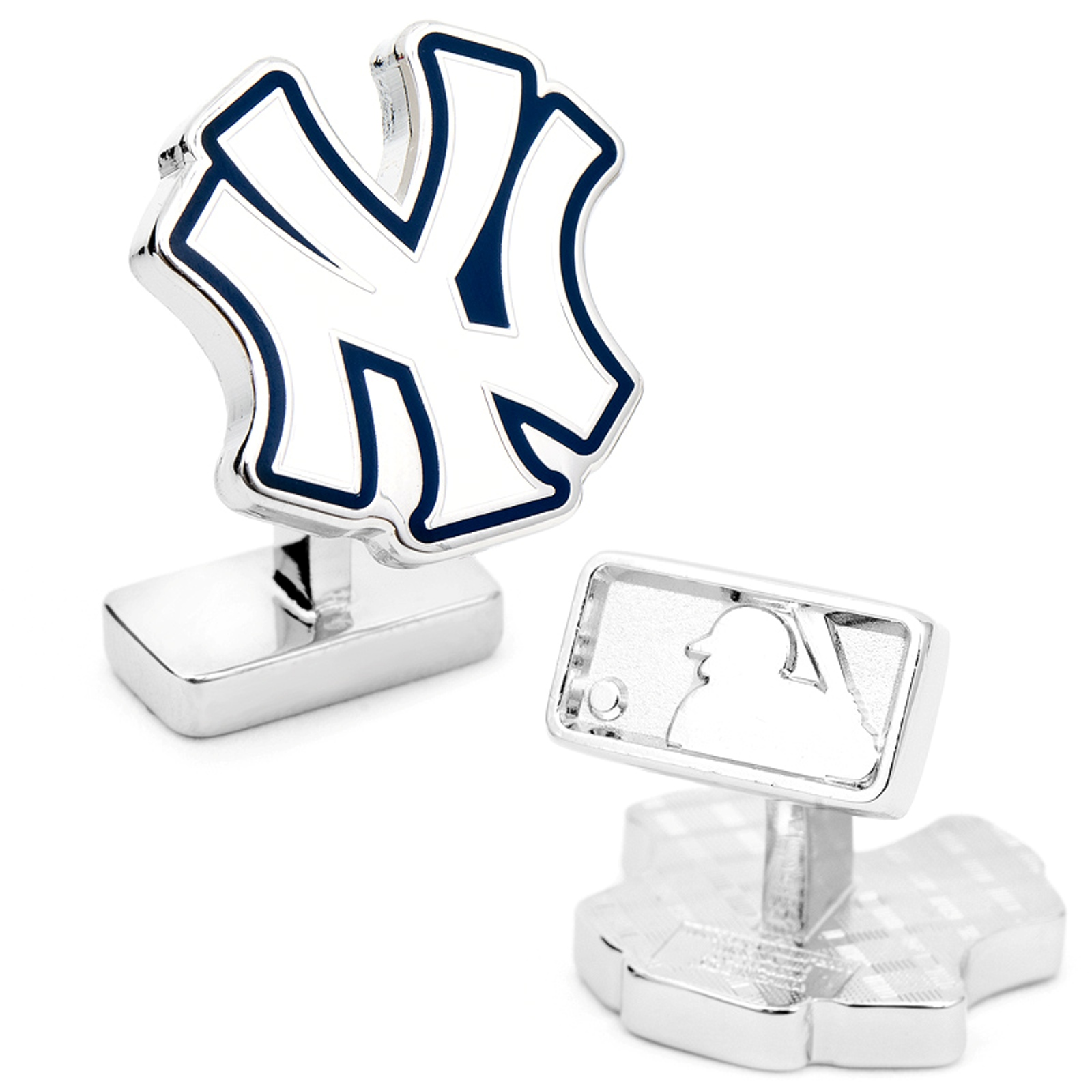 Men's Cufflinks Inc Palladium New York Yankees Cufflinks
