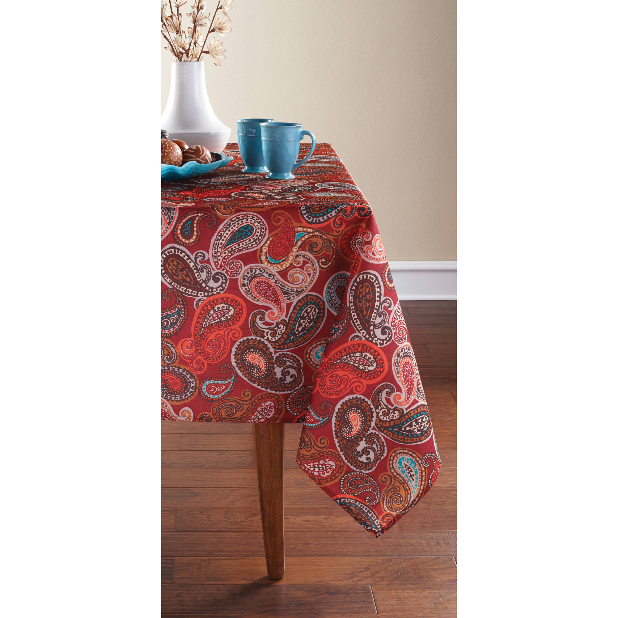 Mainstays Paisley Tablecloth