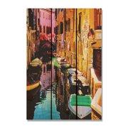 Day Dream HQ CST1624 16 x 24 in. Canal Street Inside & Outside Cedar Wall Art