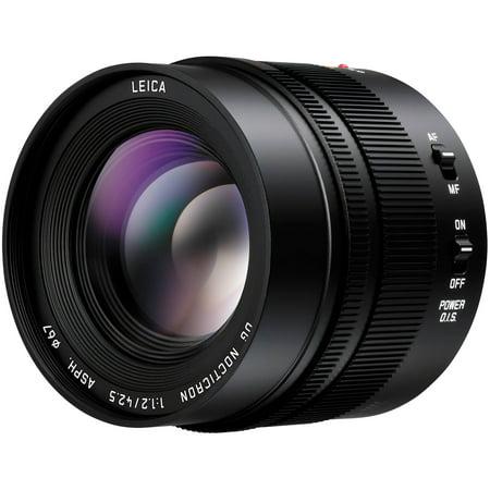 Panasonic Lumix G 42.5mm f/1.2 Leica DG Nocticron ASPH. Lens for G Series Cameras (Best L Series Lens)