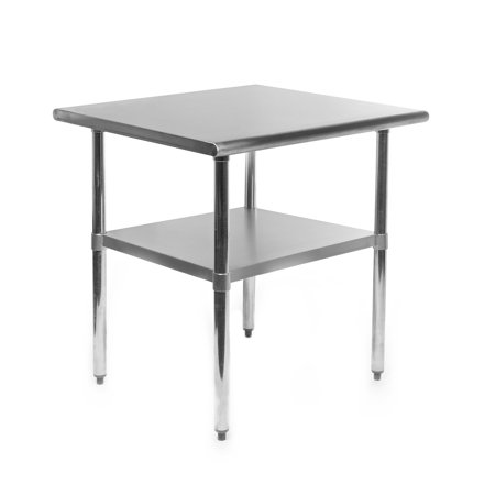 - GRIDMANN NSF Stainless Steel Commercial Kitchen Prep & Work Table - 30 in. x 24 in.