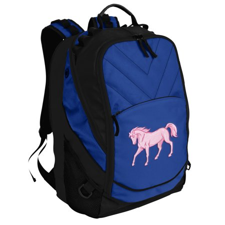 Deluxe Horse Laptop Backpack Horse Theme Backpack or School - Horse Themed School Supplies