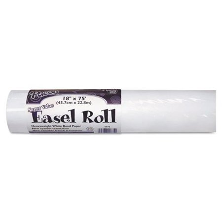 18 in. x 75 ft. Easel Drawing Paper Roll - White](Roll Of White Paper)