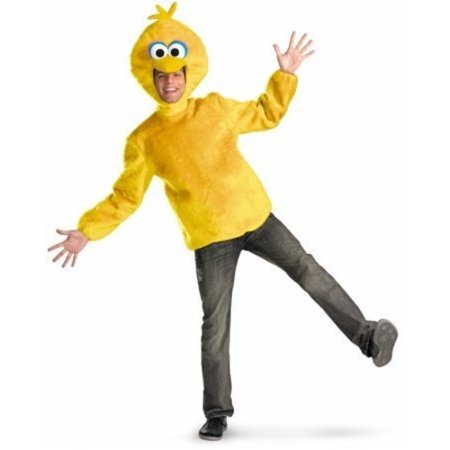 Big Bird Adult Halloween Costume - Scary Halloween Costumes For Big Dogs