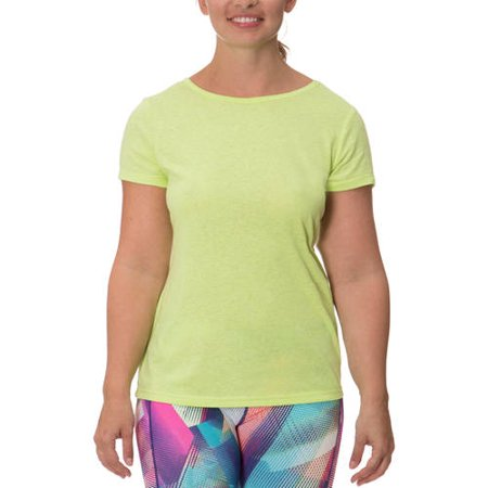 Women's Plus Active Fashion Barback Tee