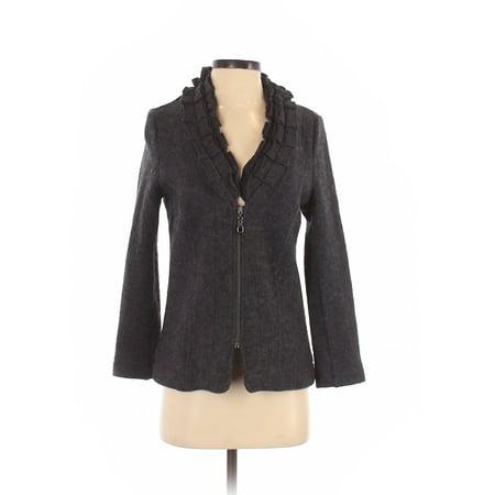 Pre-Owned Carole Little Women's Size S Petite Wool Cardigan Petite Wool Cardigan
