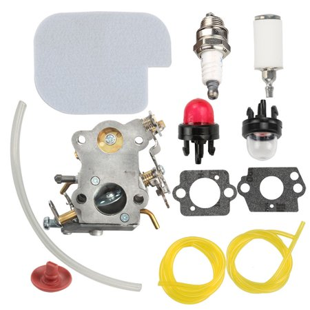 - HIPA C1M-W26C 545070601 Carburetor + Air Filter Spark Plug Carb Primer Bulb for Poulan Pro PP3416 PP3516 PP3816 PP4018 PP4218 PPB3416 SM4218AV Gas Chainsaw