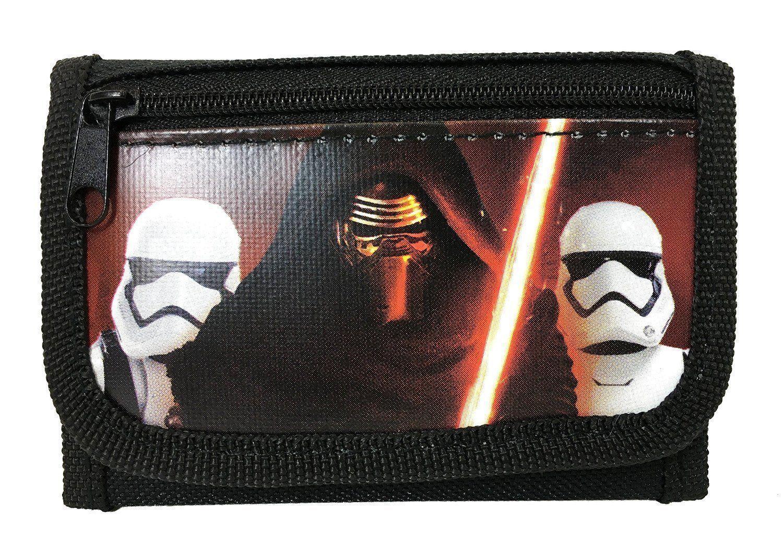Disney Star Wars Kylo Ren /& Storm Troopers Lanyard Zipper ID Holder W// wallet