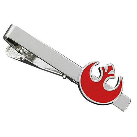 Halloween Episode Family Ties (Star Wars Rebel Red Fashion Novelty Tie Clip Movie Film with Gift)