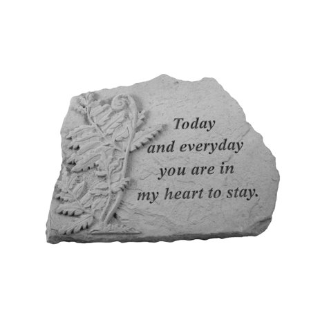 Kay Berry Today and Everyday Memorial Stone - Fern Design ()