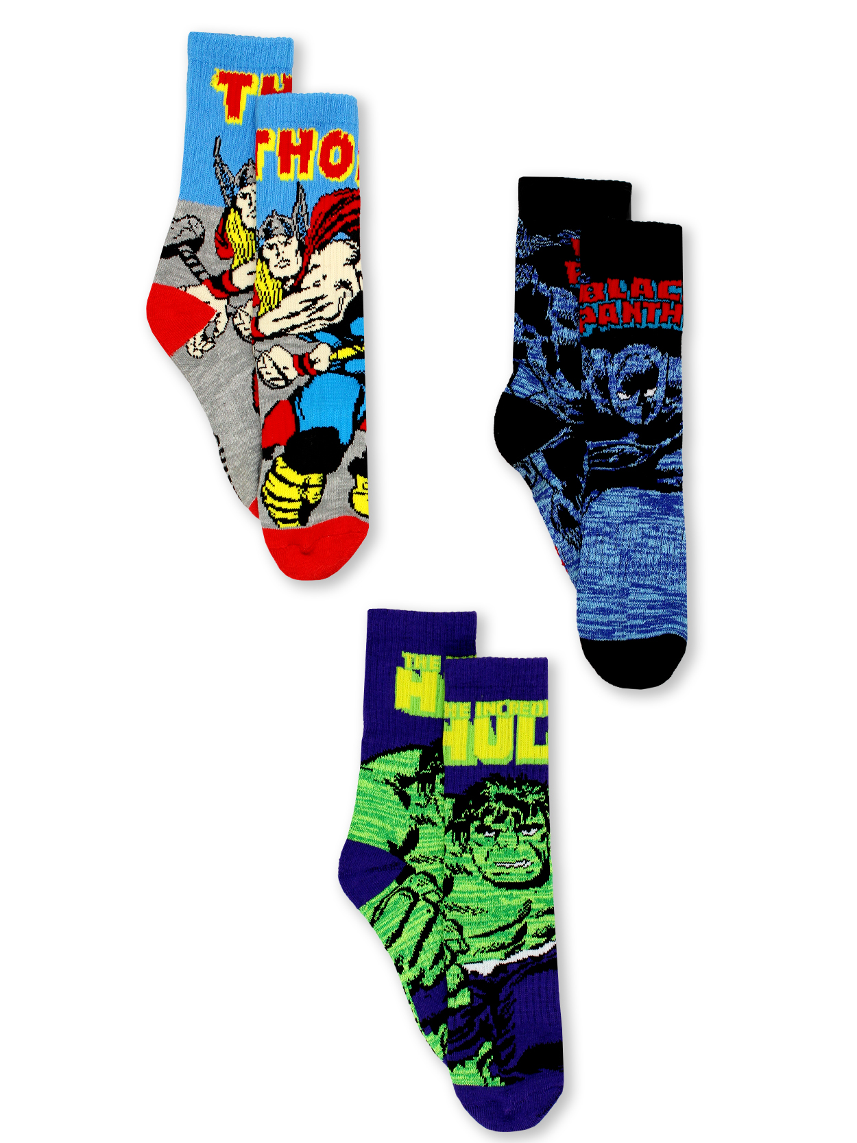 3 MARVEL Socks for S~M size,Birthday Gifts.