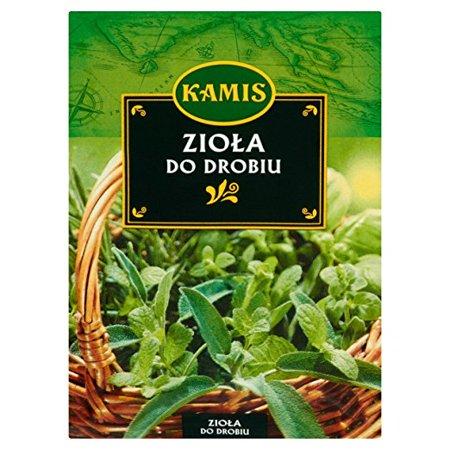 Kamis Ziola Do Drobiu Herbs for Seasoning Chicken 15g Bag