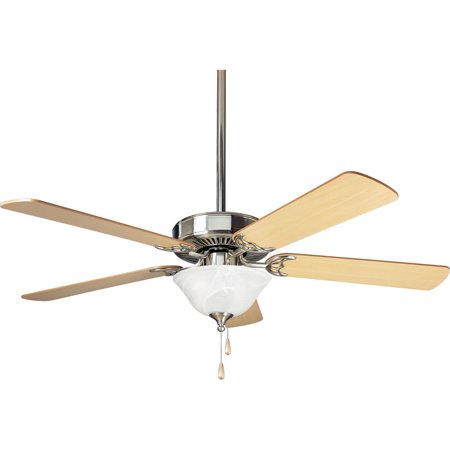 """AirPro Collection 52"""" Builder Three-Light Five-Blade Ceiling Fan"""
