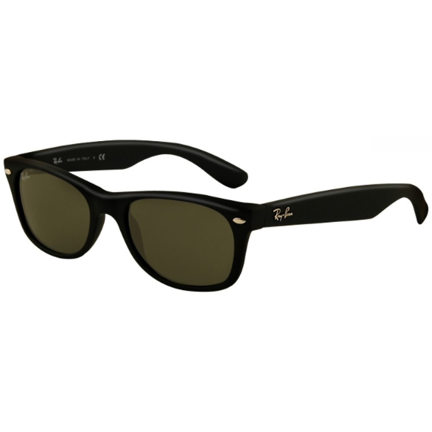 Ray-Ban Men\u0026#39;s New Wayfarer RB2132-622-52 Black Oval Sunglasses - Walmart.com