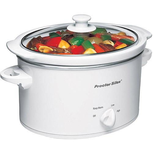 Proctor Silex 3 Quart Slow Cooker | Model# 33275Y