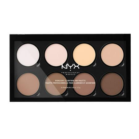 NYX Professional Makeup Highlight & Contour Pro Palette (Extreme Contouring Halloween)