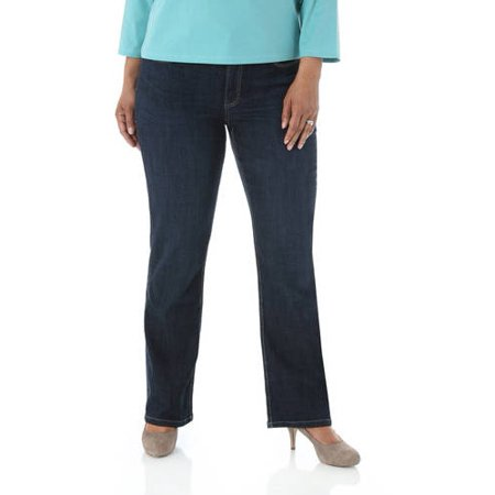 e2f3af3431dd4 Lee Riders - Women s Plus-Size Slender Stretch Slimming Bootcut Jeans