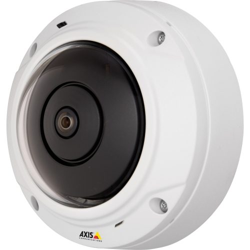 Axis 0556-001 AXIS M3027-Pve 5 Megapixel Network Camera - Color, Monochrome - M12-mount - 2592 x 1944 - RGB CMOS - Cable - Fast Ethernet