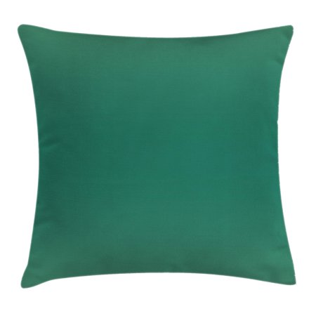 Ombre Throw Pillow Cushion Cover, Ocean Sea Waves Inspired Light Teal Color Design for Room Decorations Digital Print Image, Decorative Square Accent Pillow Case, 18 X 18 Inches, Teal, by - 18 Decorations