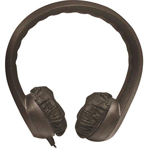 Hamilton Buhl Flex Phones Foam Headphones - 3.5mm Plug Black (kids-blk)