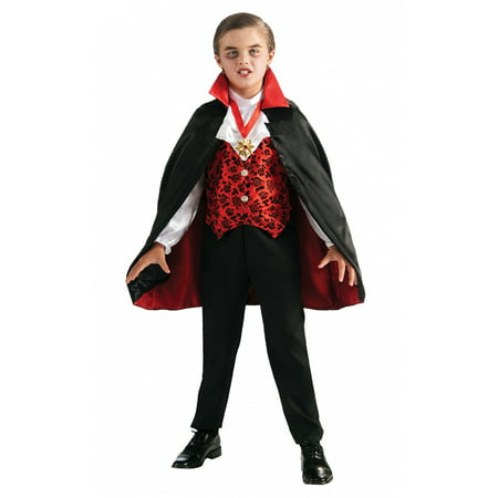 Deluxe Vampire Toddler Costume - Toddler Small (Deluxe Vampire Costume)