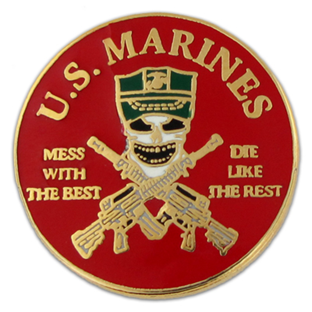 U.S. Marines Mess Pin - Military Lapel Pin