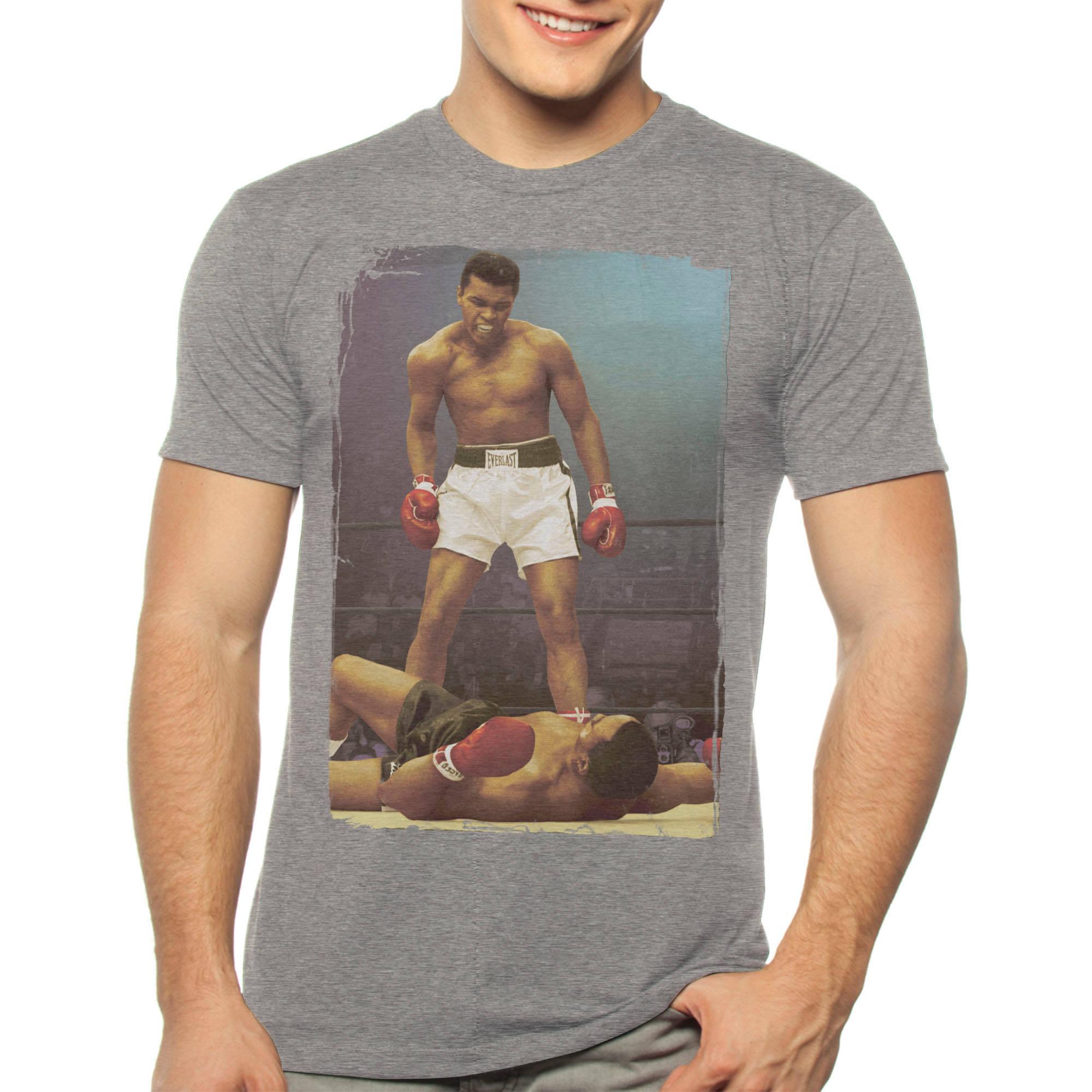 Muhammad Ali Big Men's Knockout Graphic Tee, 2XL
