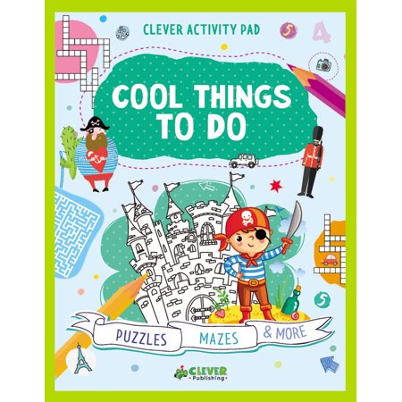 Cool Mazes (Cool Things To Do : Puzzles, Mazes &)