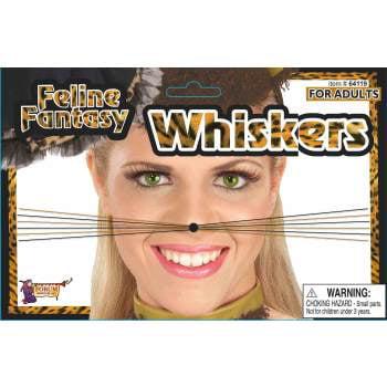 FELINE FANTASY LEOPARD WHISKER - Halloween Cat Whiskers Uk