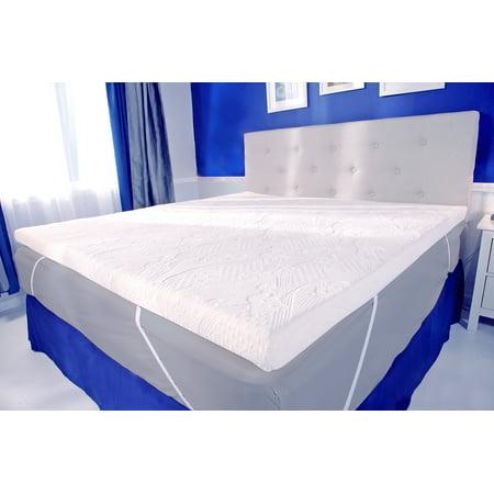 Mypillow 2 Mattress Topper Twin Size, King Mattress Topper On Queen Bed