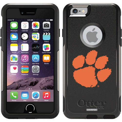 write on photos iphone clemson paw print design on otterbox commuter series 7676