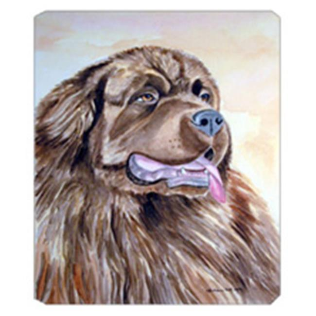 8 x 9.5 in. Chocolate Brown Newfie Newfoundland Mouse Pad, Hot Pad Or Trivet