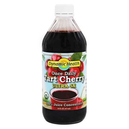 Dynamic Health - Organic Tart Cherry Juice Concentrate Ultra 5X - 16 oz. ()
