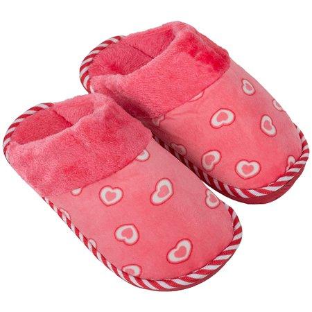 Image of Aerusi Women's Cosmo Heart Bedroom Indoor Slippers