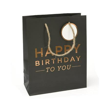 Mara-Mi 'Happy Birthday To You' Rose Gold Foil Small Gift (Happy Birthday Gift Tin)