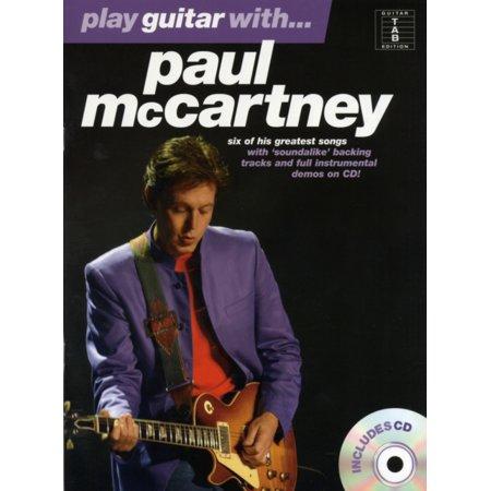 Play Guitar With... Paul Mccartney Gtr Book/Cd (Paperback)