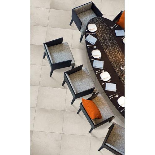 Emser Tile Cosmopolitan 13'' x 3'' Surface Bullnose Tile Trim in Crystal