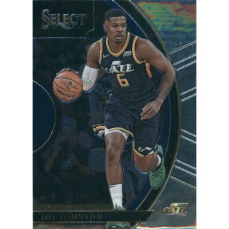 - 2017-18 Panini Select #25 Joe Johnson Utah Jazz Basketball Card