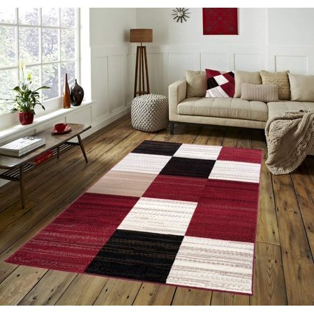 Area Rugs For Living Room Clearance Squares Rug Bedroom Kitchen Dining Modern Geometric Space Design 5x7