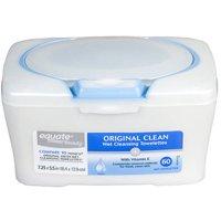 Equate Original Chamomile, Vitamin E, & Triple Tea Complex Wet Facial Cleansing Towelettes Tub, 60 Count