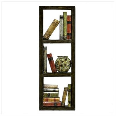 Library Metal Wall Art - Walmart.com