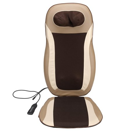 Electric Car Massage Cushion Seat Chair Back Neck Shoulder Body Massager Pain Relief Heat Kneading