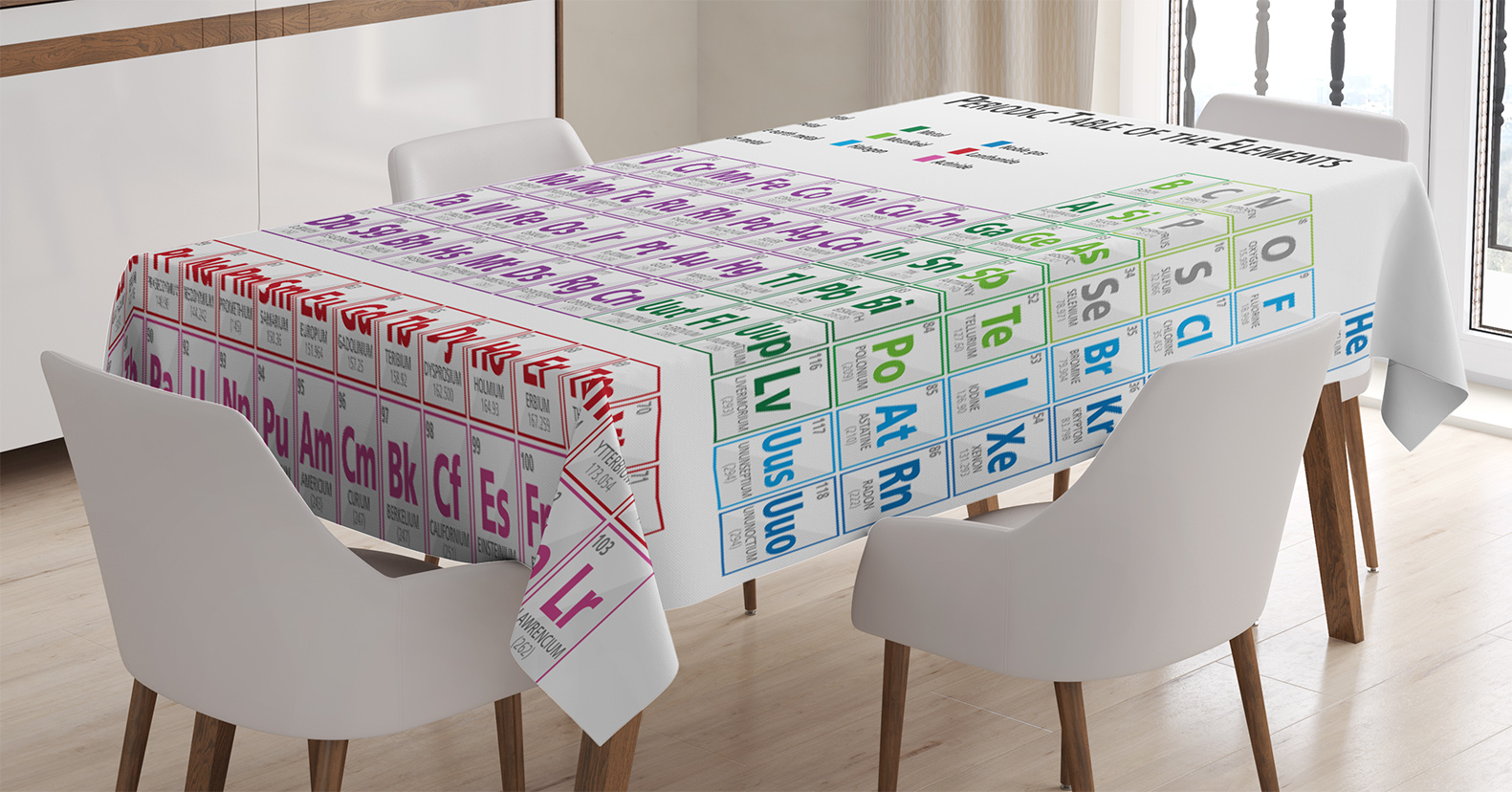 Ordinaire Science Tablecloth, Chemistry Primary School Students Geek Nerd Lessons  Classes Smart Kids Art Print,