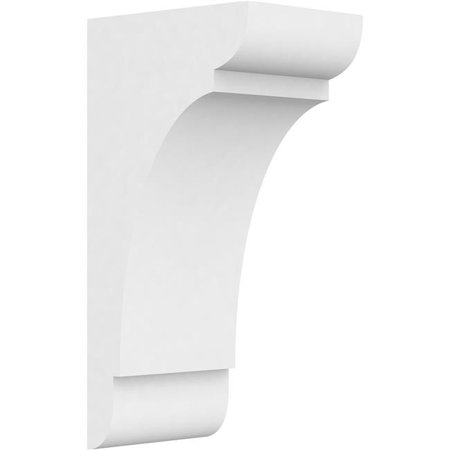 Ekena Millwork CORP05X07X14OLY Standard Olympic Architectural Grade PVC Corbel - 14 x 5 x 7 in. - image 1 of 1