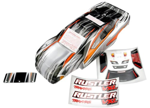 Traxxas 3715 VXL ProGraphix Body Rustler Multi-Colored by TRAXXAS