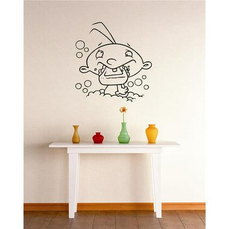 Do It Yourself Wall Decal Sticker Cartoon Kid Bathroom Stylish Decor Mural 20x30
