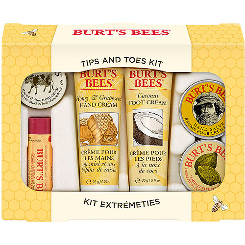 Burt's Bees Tips and Toes Gift Set, Everday