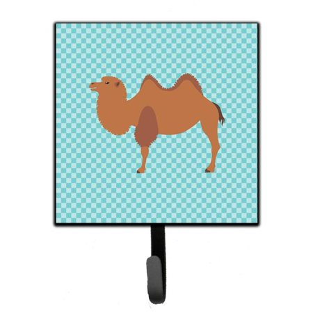 Carolines Treasures BB7992SH4 Bactrian Camel Blue Check Leash or Key Holder - image 1 of 1