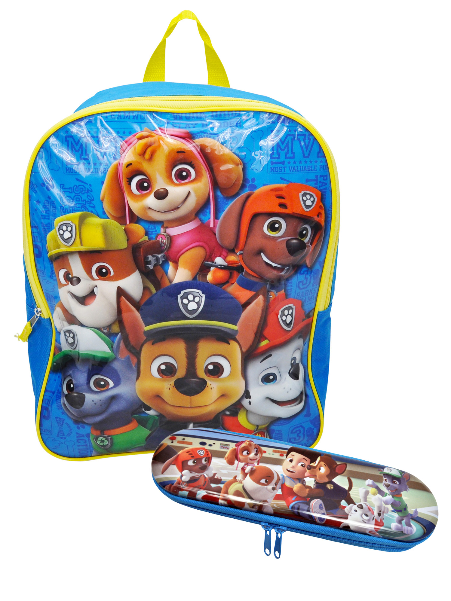 "Boys Paw Patrol Group 15"" Backpack  & Pencil Case 2-Piece"