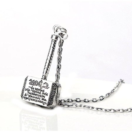 Hammer of Thor Necklace The Avengers Thors Hammer, Jewl:THOR-H (Avengers Hammer)